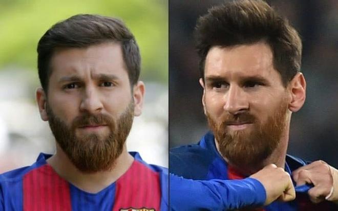 Chang trai bi dua den don canh sat vi qua giong Messi hinh anh