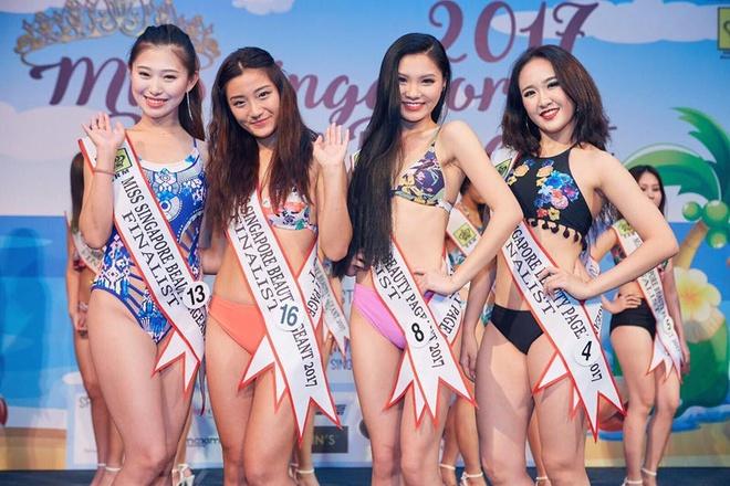 Nhan sac dan thi sinh Hoa hau Singapore bi che gia, xau hinh anh 3