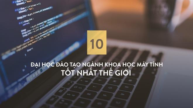 10 dai hoc dao tao nganh Khoa hoc May tinh tot nhat the gioi hinh anh