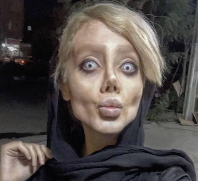 co gai xac song giong Angelina Jolie anh 3