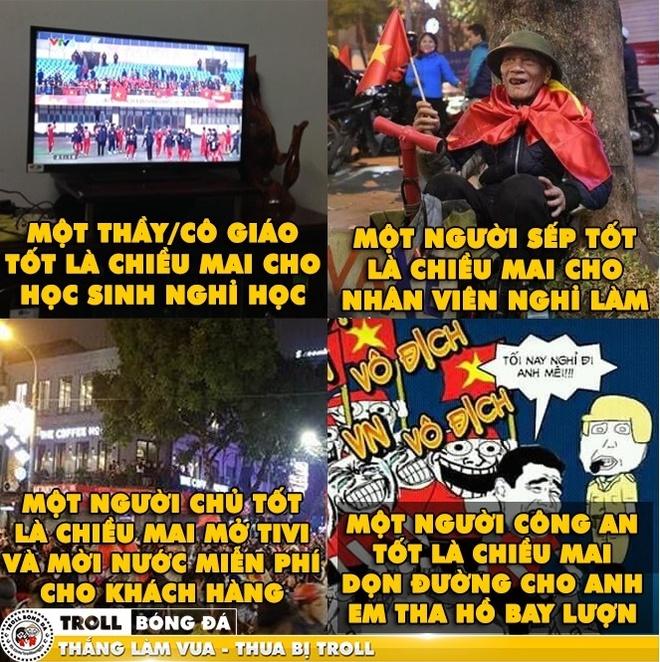 Dan mang mo ve chien thang cua U23 Viet Nam trong tran ban ket hinh anh 5