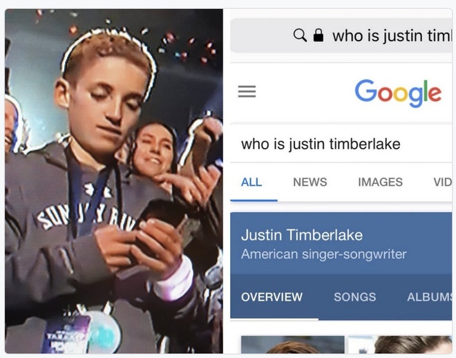 Tro thanh hien tuong mang nho buc anh selfie voi Justin Timberlake hinh anh 2