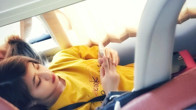 Len mang 'xin link' co gai di chung chuyen xe vi xinh dep hinh anh 3