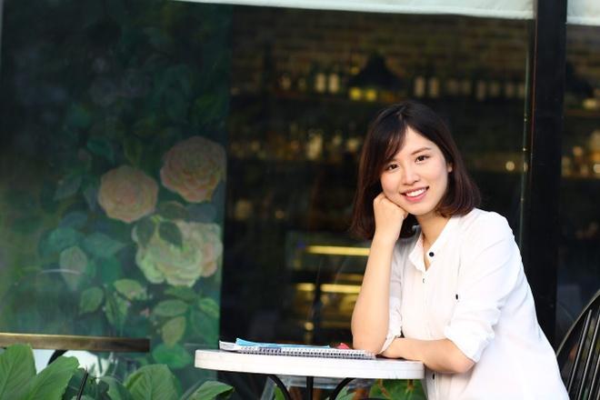 Em ho Huong Giang Idol cao 1,69 m gioi tieng Anh, la giang vien DH hinh anh 6