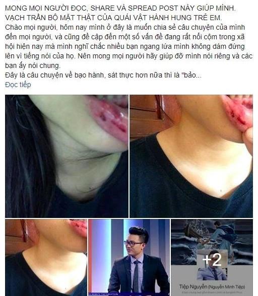 Vu nu sinh to MC Minh Tiep bao hanh: Mong co quan chuc nang vao cuoc hinh anh 1