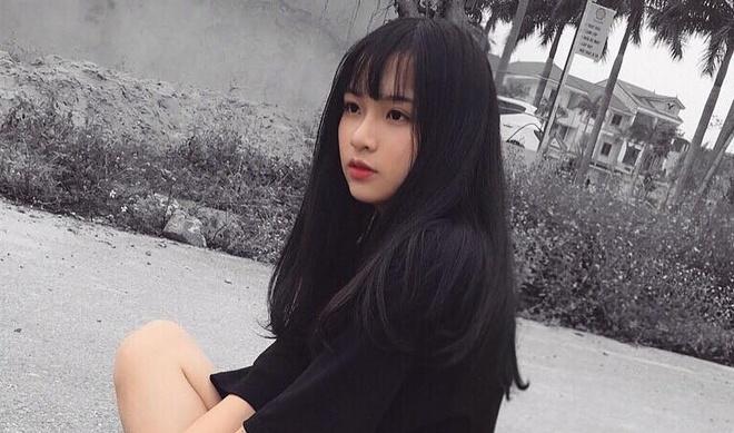 Sau Khanh Vy, day la hot girl moi cua truong Phan Boi Chau hinh anh