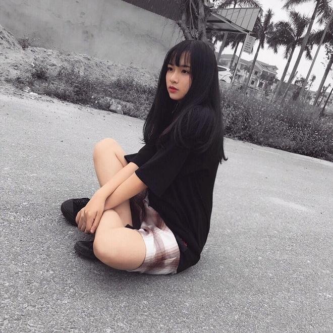 Sau Khanh Vy, day la hot girl moi cua truong Phan Boi Chau hinh anh 6