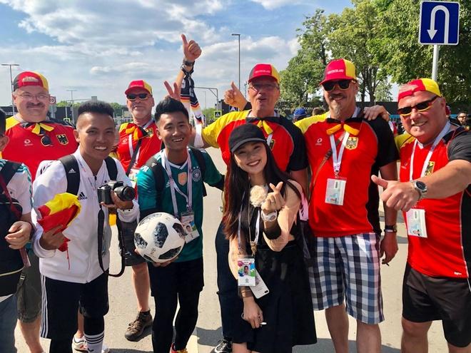 A khoi Ngoc Nu rang ro sang Nga xem World Cup, co vu doi Brazil hinh anh 1