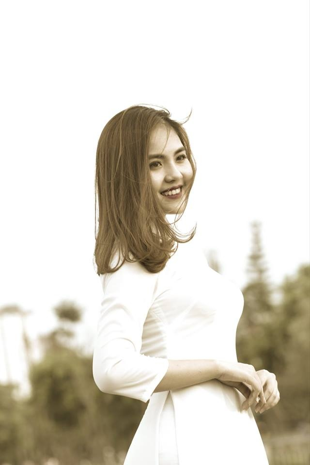 Nhan sac ngot ngao cua hot girl Ha Tinh dai dien tuyen Han Quoc hinh anh 2