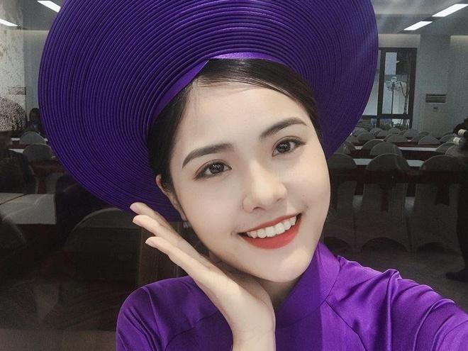 Nhan sac ngot ngao cua hot girl Ha Tinh dai dien tuyen Han Quoc hinh anh