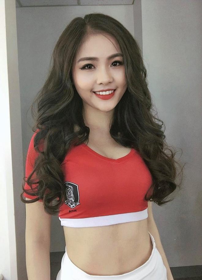 Nhan sac ngot ngao cua hot girl Ha Tinh dai dien tuyen Han Quoc hinh anh 6