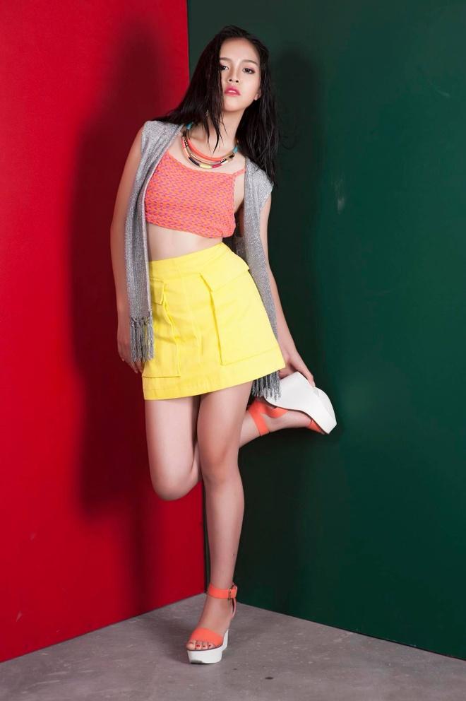 Hot girl 'Banh duc co xuong' Ha Anh lay chong o tuoi 21 hinh anh 10