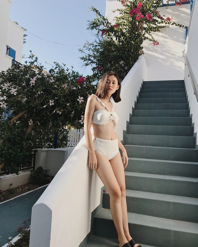 Hot girl Viet ru nhau dien bikini khoe voc dang nong bong hinh anh 8