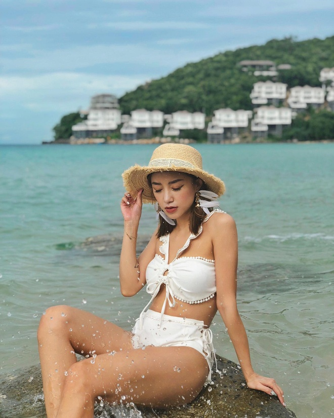 Hot girl Viet ru nhau dien bikini khoe voc dang nong bong hinh anh 6