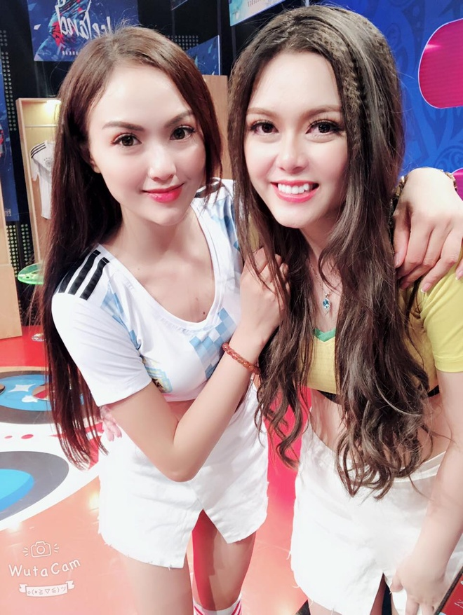 Anh than thiet cua dan hot girl World Cup truoc vu tay chay Tram Anh hinh anh 10