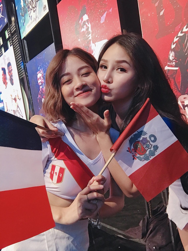 Anh than thiet cua dan hot girl World Cup truoc vu tay chay Tram Anh hinh anh 8