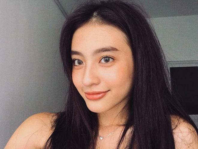 Hot girl Minh Ngoc: 'Sao lai giong Kha Ngan khi co ay sinh sau chi?' hinh anh