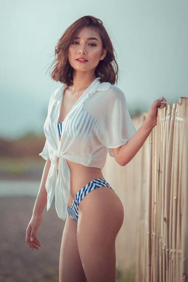 Hot girl Philippines 'gay bao' mang voi dieu nhay lao ra khoi xe hinh anh 1