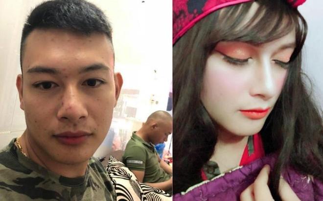 Chang trai make up duoc khen xinh khong kem con gai hinh anh