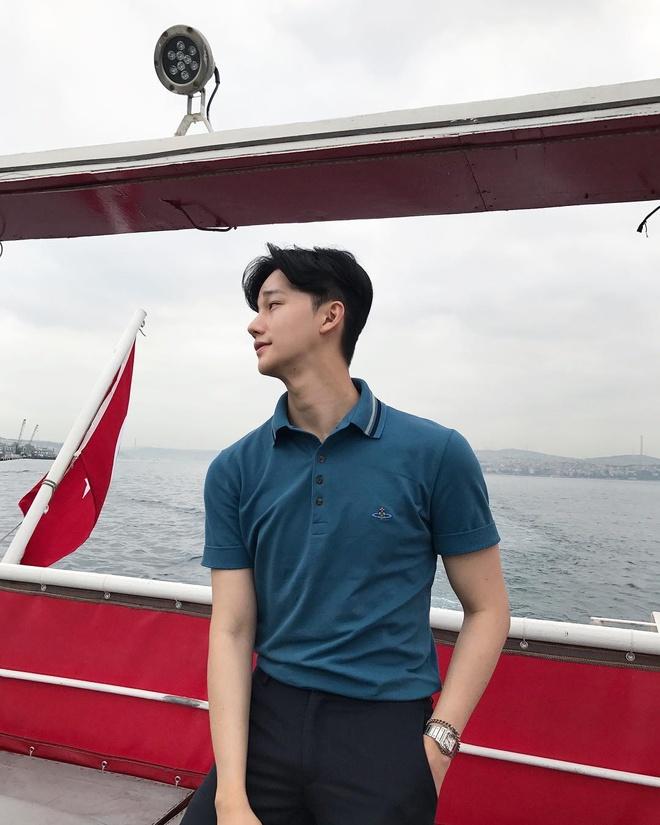 Hot boy Han gay chu y mot thoi vua khoe anh du lich o Phu Quoc hinh anh 13