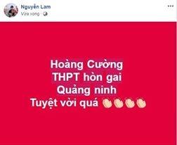 Dan mang chuc mung Hoang Cuong vo dich Olympia nam 18 hinh anh 2