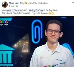 Dan mang chuc mung Hoang Cuong vo dich Olympia nam 18 hinh anh 5
