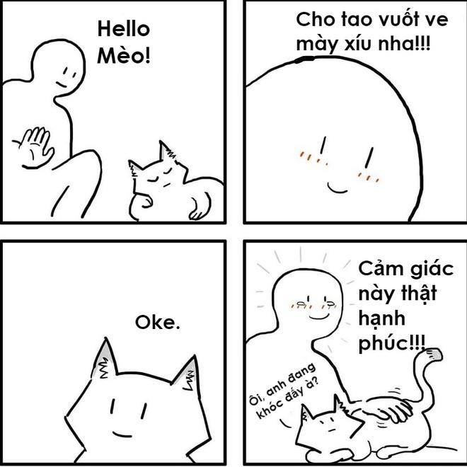 Bo Tranh: Su Khac Nhau Hai Huoc Giua Cho Va Meo Hinh Anh 8