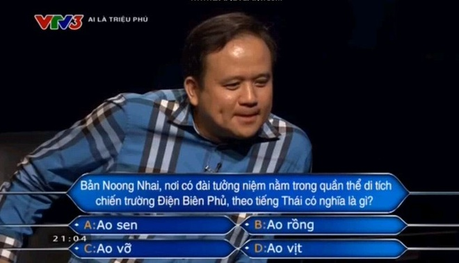Nguoi choi 'Ai la trieu phu' danh 22 trieu tien thuong lam tu thien hinh anh 1