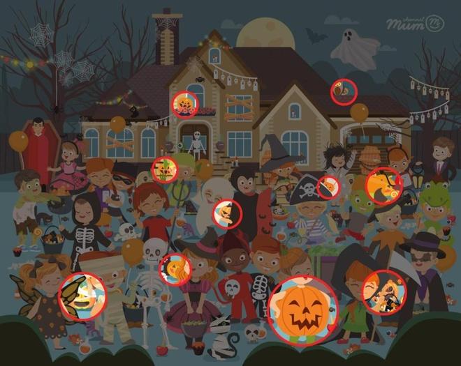 Cau do tim 10 qua bi ngo Halloween trong tranh thach thuc dan mang hinh anh 2
