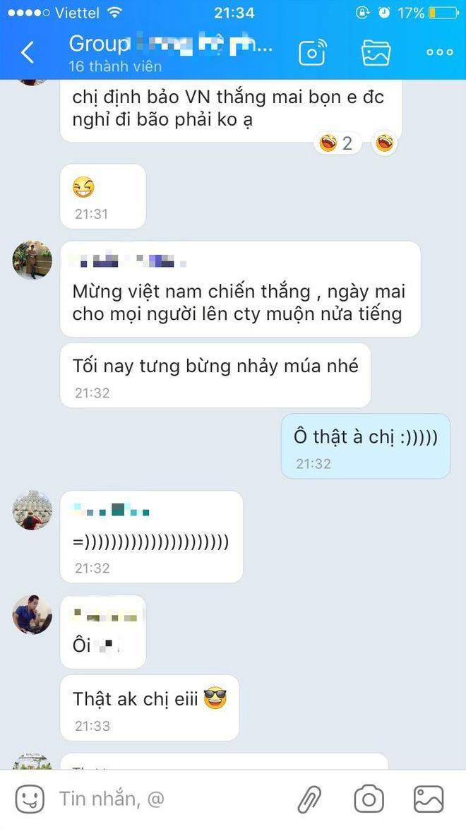 Hoi ban gai cau thu 'di bao' chuc mung chien thang cua tuyen Viet Nam hinh anh 10