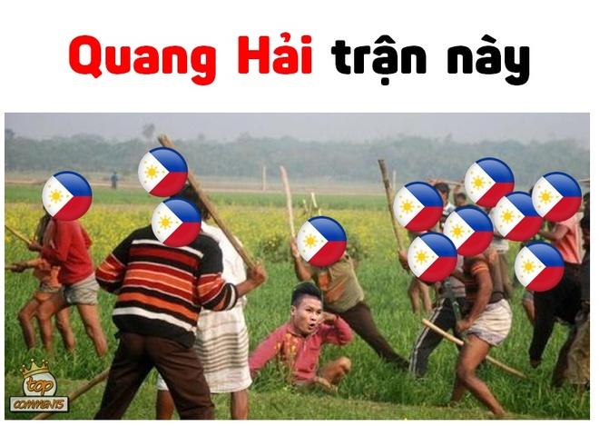Bao cat Quang Hai duoc dan mang che anh sau tran gap Philippines hinh anh 4