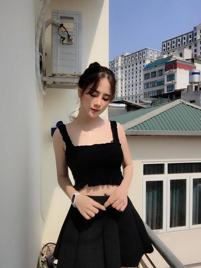 Nu CDV xinh dep tren san My Dinh: 'Viet Nam se thang 2-0 o chung ket' hinh anh 5