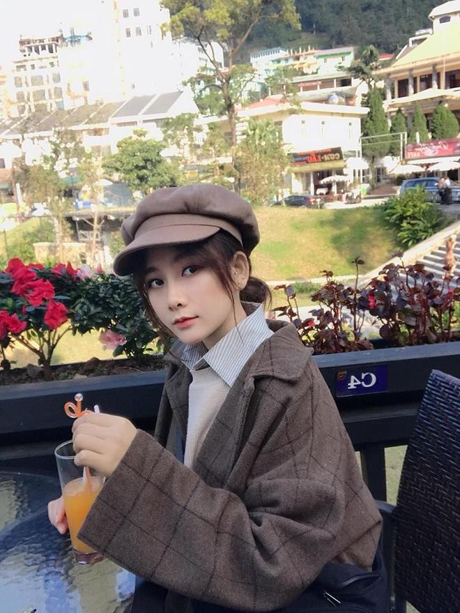 Nu CDV xinh dep tren san My Dinh: 'Viet Nam se thang 2-0 o chung ket' hinh anh 6