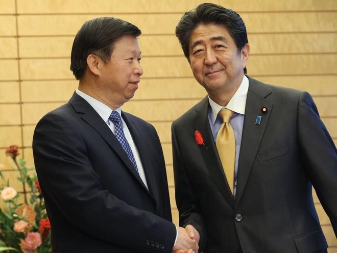 Thu tuong Shinzo Abe se tham Trung Quoc lan dau tien ke tu 2011 hinh anh 1