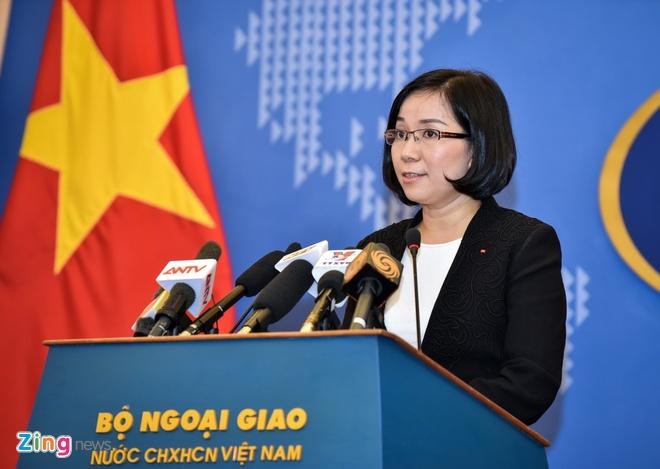 Viet Nam phan doi Dai Loan tap tran ban dan that tren Bien Dong hinh anh 1