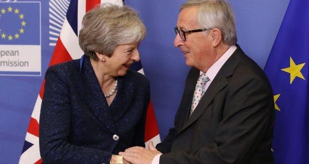 Lanh dao EU dong y thoa thuan 'ly hon' voi Anh hinh anh