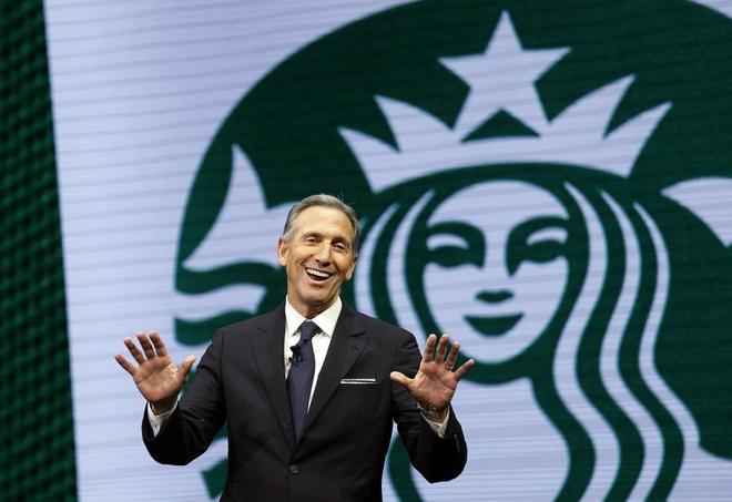 Phe Dan chu so TT Trump tai dac cu neu cuu CEO Starbucks chay dua 2020 hinh anh 1