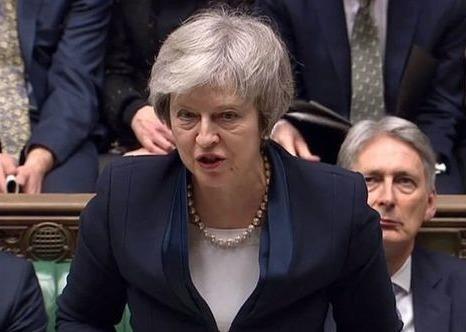 Thu tuong Anh lai that bai trong lan hai bo phieu Brexit hinh anh