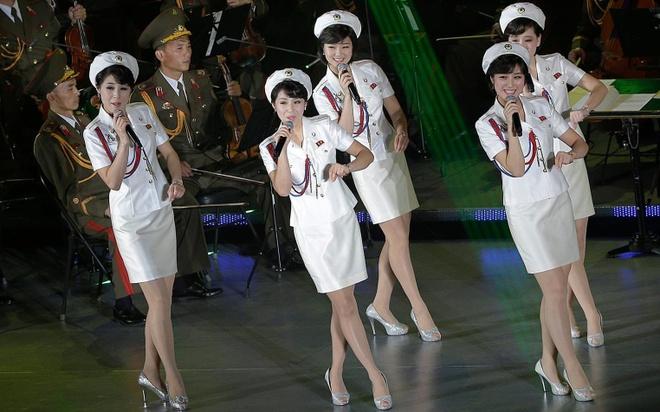 K-pop va giay the thao - cuoc cach mang van hoa cua ong Kim Jong Un hinh anh