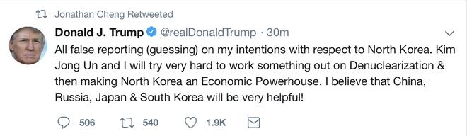 'Toi va Kim Jong Un se bien Trieu Tien thanh cuong quoc kinh te' hinh anh 1
