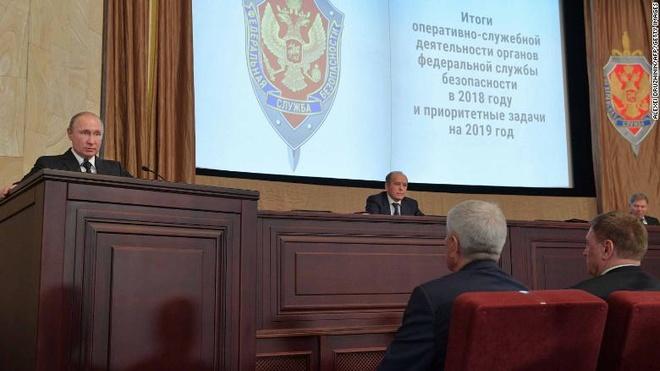 Nga ngăn chặn gần 600 điệp viên trong năm 2018