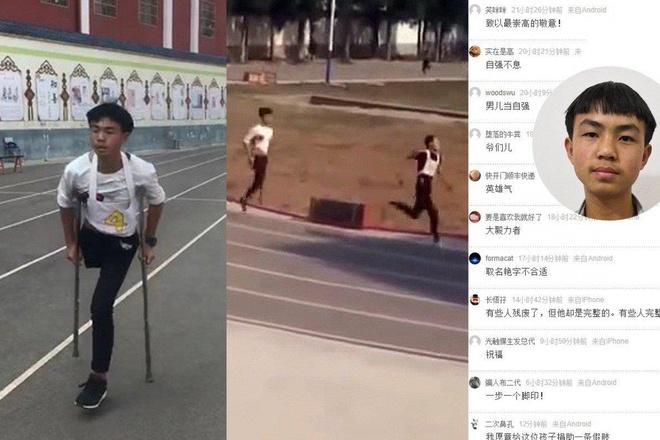 Nam sinh mot chan thi chay 1.000 m gay sot mang xa hoi tai Trung Quoc hinh anh 1