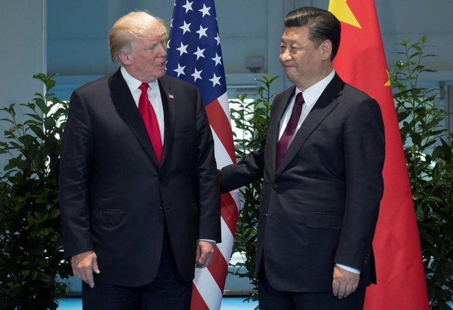 Ben le G20, TT Trump hy vong 'dam phan hieu qua' voi ong Tap hinh anh 1
