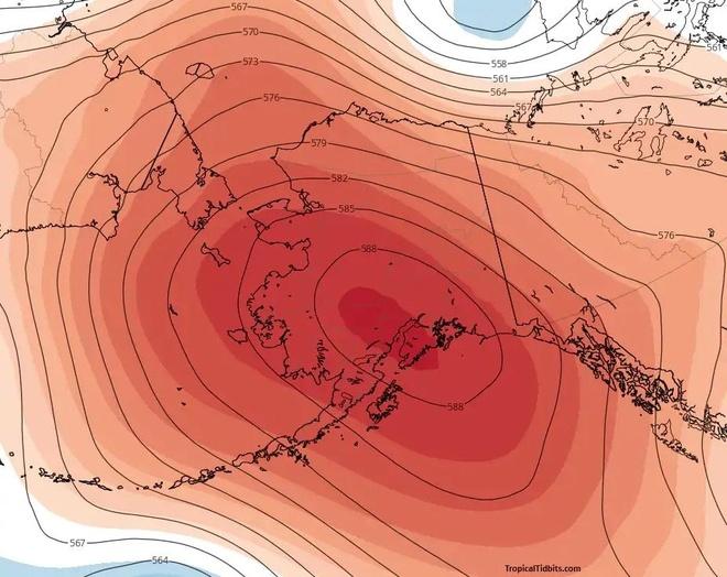 song nhiet o Alaska anh 1