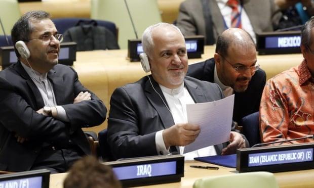 Iran bat ngo xuong nuoc 'dang ke' voi My hinh anh 1