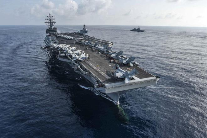 Việt Nam phản ứng về việc Mỹ đưa tàu sân bay vào Biển Đông
