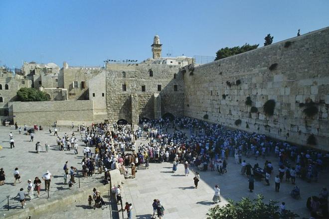 Dan cao tai thanh dia Jerusalem gay xon xao ve loi tien tri hinh anh 1