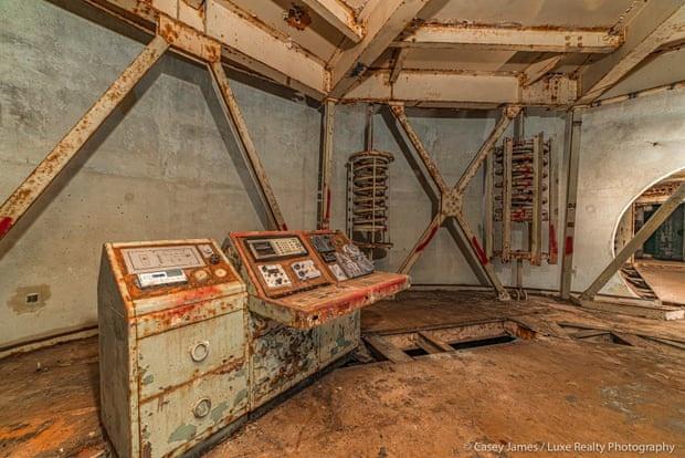Hầm chứa siêu tên lửa đạn đạo ở Mỹ được rao bán với giá 400.000 USD
