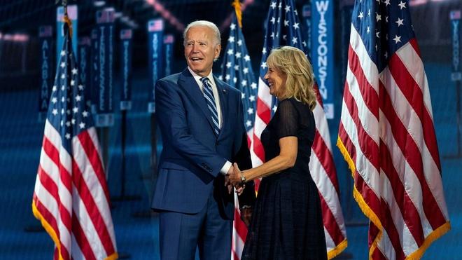ung cu vien Joe Biden anh 1