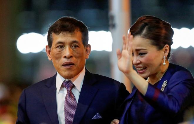 bieu tinh Thai Lan anh 1
